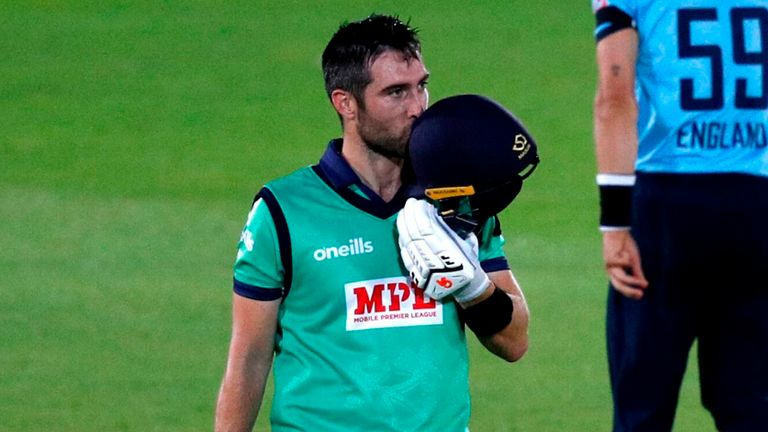 Ireland skipper Balbirnie hit 113 in a memorable win for his side