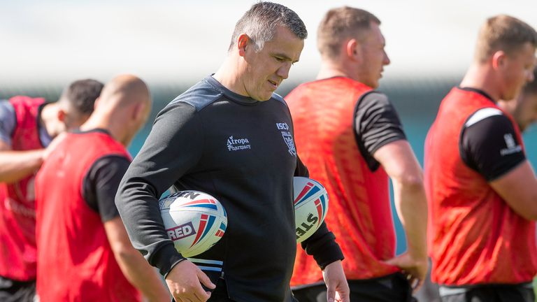 Andy Last takes charge of Hull FC for the first time on Sunday
