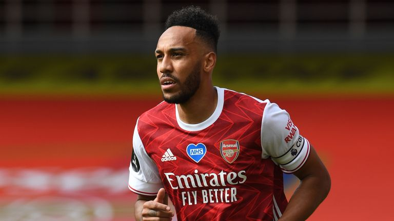 Pierre-Emerick Aubameyang is set to stay at the Emirates
