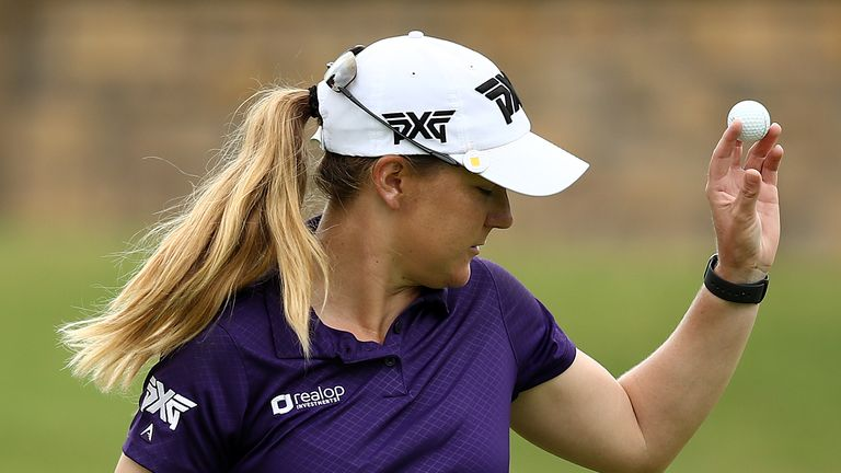 Ernst mixed nine birdies with two bogeys on the final day