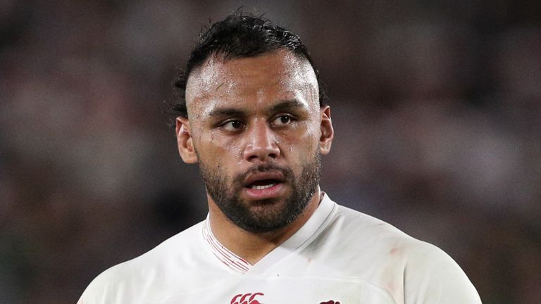 Billy Vunipola has not played for England since the World Cup final in November 2019