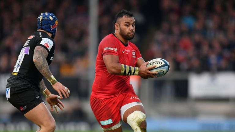 Vunipola will play in the Championship next season with brother Mako