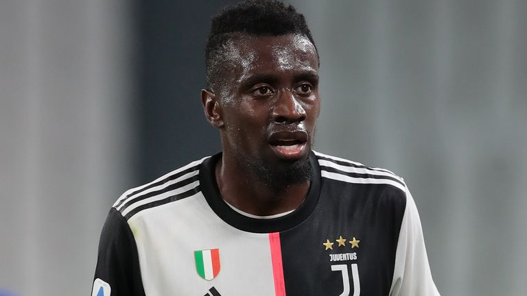 Blaise Matuidi left Juventus this month after helping them to the Serie A title