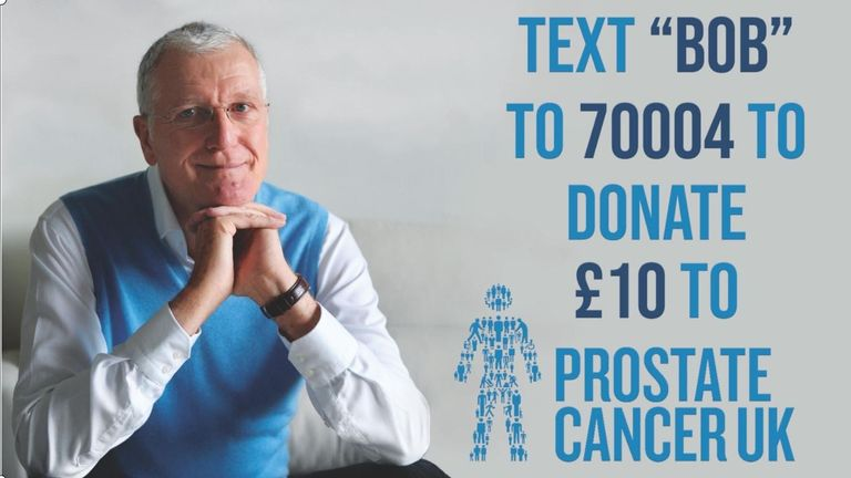 All proceeds from the book 'Bob Willis: A Cricketer and a Gentleman' will also go towards funding cancer research
