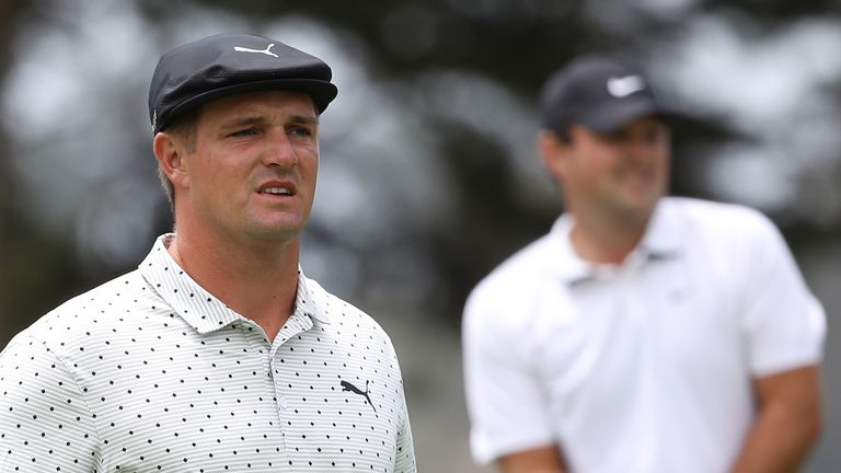 DeChambeau was paired with Reed, who carded a one-under 69