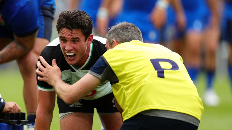 Carbery first suffered the injury a year ago in a World Cup warm-up game vs Italy