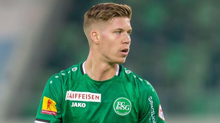 Rangers signed striker Cedric Itten from St Gallen