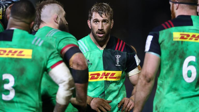 The 34-year-old leaves Quins having spent his entire professional career until now with the club - 297 appearances between 2005 and 2020