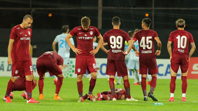 Cluj - who knocked out Celtic last year - suffered a shootout defeat