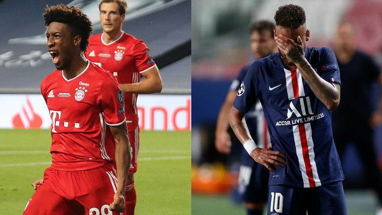 Kingsley Coman proved the match-winner on an off-night for Neymar