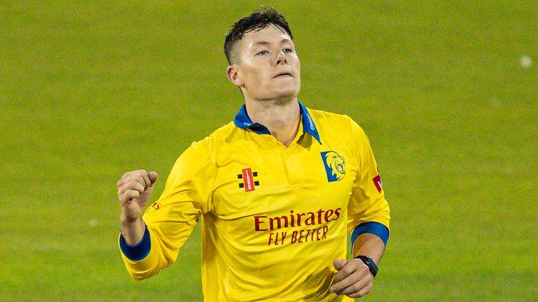 Matthew Potts made an impact for Durham in T20 cricket last season