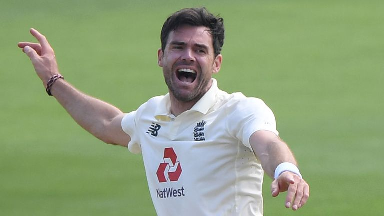 James Anderson reflects on a record breaking day with some special messages from some special people