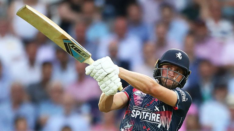 Alex Blake is now on a white-ball contract with Kent Spitfires