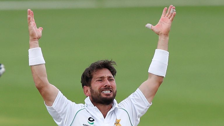 Yasir Shah had taken the wickets of Dom Sibley and Ollie Pope to leave England in trouble at 127-4