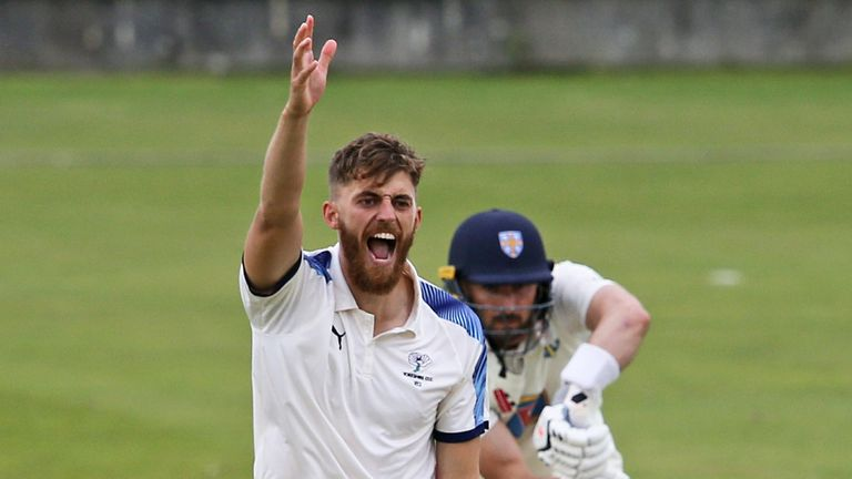 Ben Coad, a consistent campaigner at county level, bagged four wickets for Yorkshire