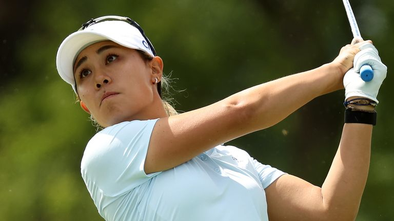 Danielle Kang is the leader on six under