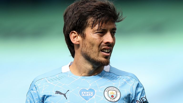 David Silva will leave Manchester City later this month after 10 years with the club