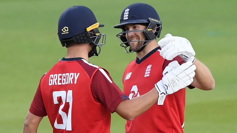 Dawid Malan says there is always pressure on him with England having such fierce competition for batting spots