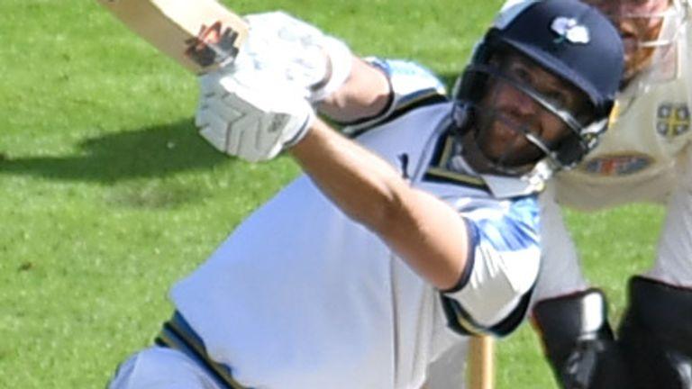 Dawid Malan hit an unbeaten half-century on his Yorkshire debut