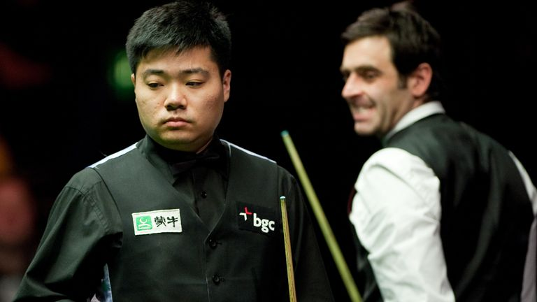 Ronnie O'Sullivan has great respect for Ding Junhui (left)
