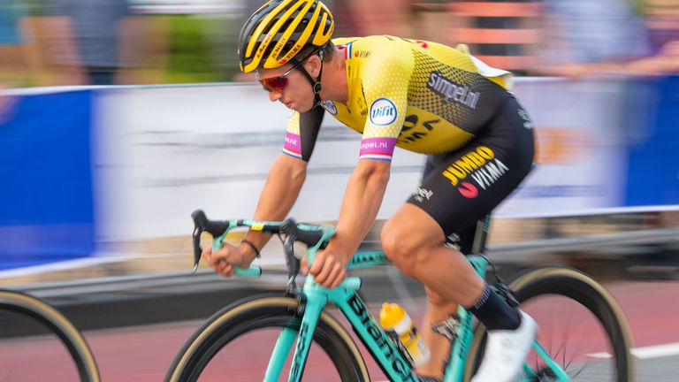 Groenewegen apologised for the crash and says he feels 'terrible' about what happened
