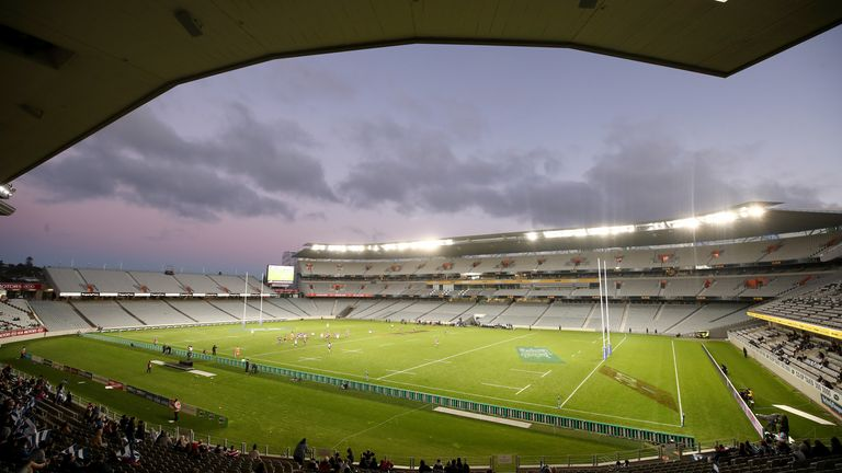 The game is scheduled to take place at Eden Park in Auckland