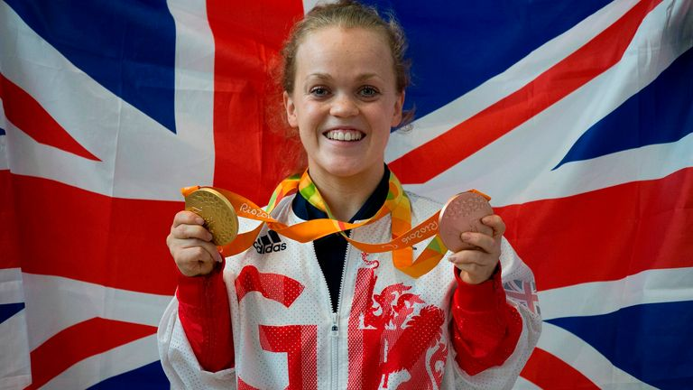 British Paralympic legend Ellie Simmonds talks about issues of mental health
