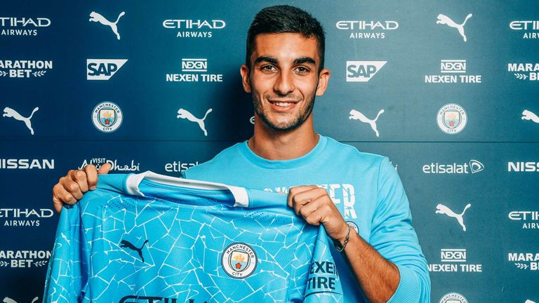 Ferran Torres joins Manchester City on a five-year deal