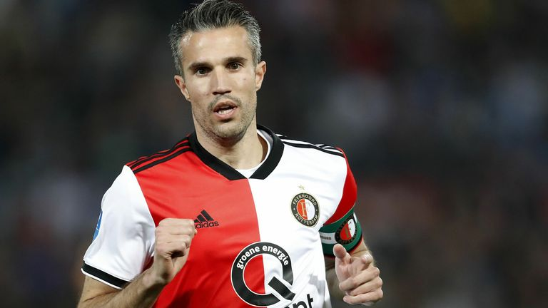 Robin Van Persie has re-joined his former club Feyenoord in a coaching position