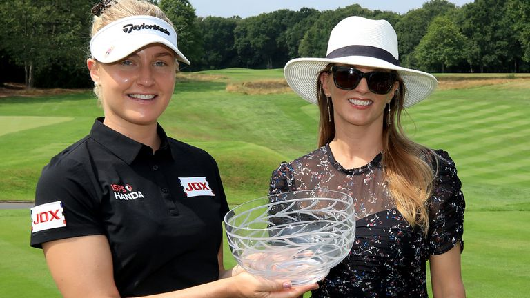 Charley Hull won the Rose Ladies Series Order of Merit in 2020