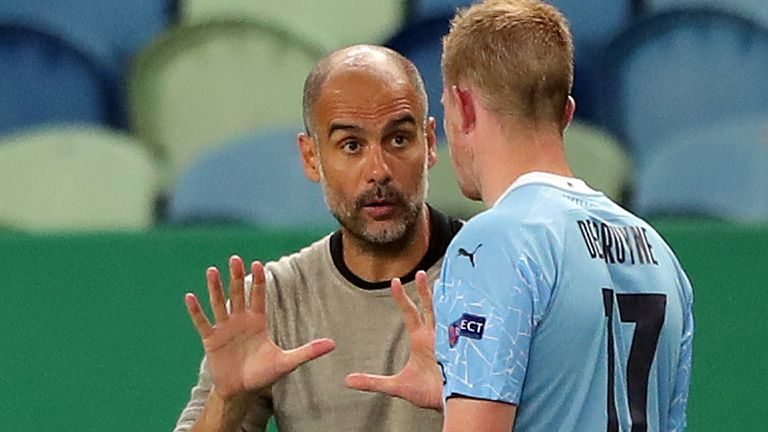 De Bruyne praised the contribution of Manchester City manager Pep Guardiola in his achieveme