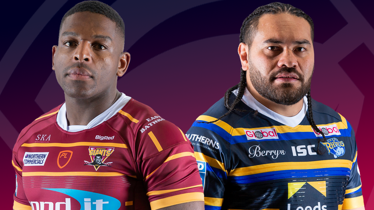 Huddersfield and Leeds clash at Headingley on Sunday