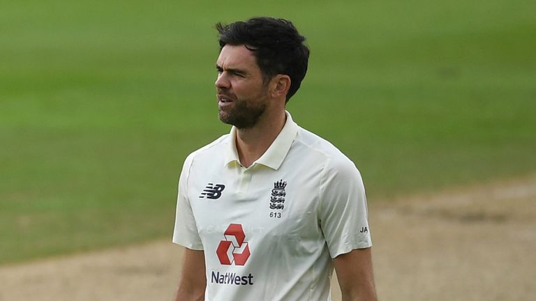 James Anderson could miss out on selection for the second Test at the Ageas Bowl
