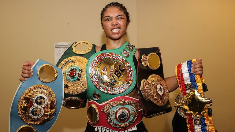 Jessica McCaskill defeated Cecilia Braekhus on points in August