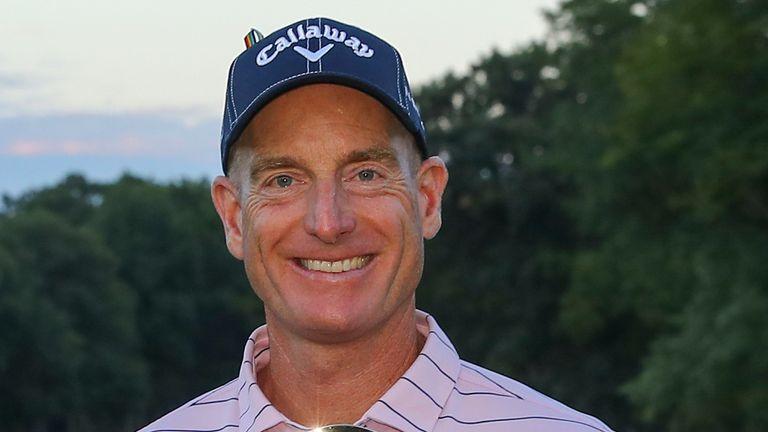 Jim Furyk won his PGA Tour Champions debut in Michigan