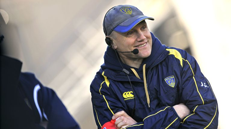 Joe Schmidt during his Clermont days