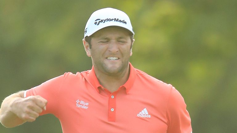 Rahm moved to second in the FedExCup standings and closed the gap on Johnson at the top of the world rankings