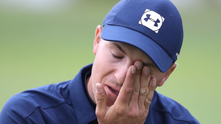 Jordan Spieth finished tied-71st at the PGA Championship