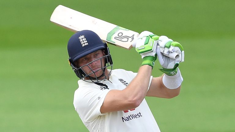 Jos Buttler played his part with a crucial 75 in a stand of 139 with Woakes