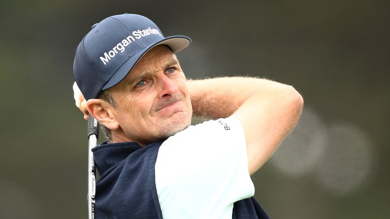 Justin Rose is three off the pace going into the final day