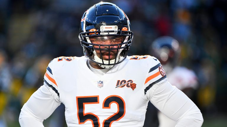 Khalil Mack is back being a disruptive force on the Bears defence in 2020