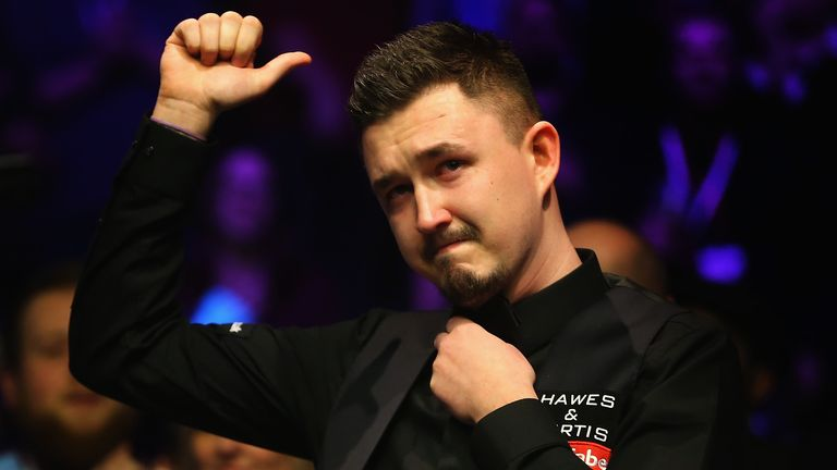 Kyren Wilson reached the World Snooker Championship final