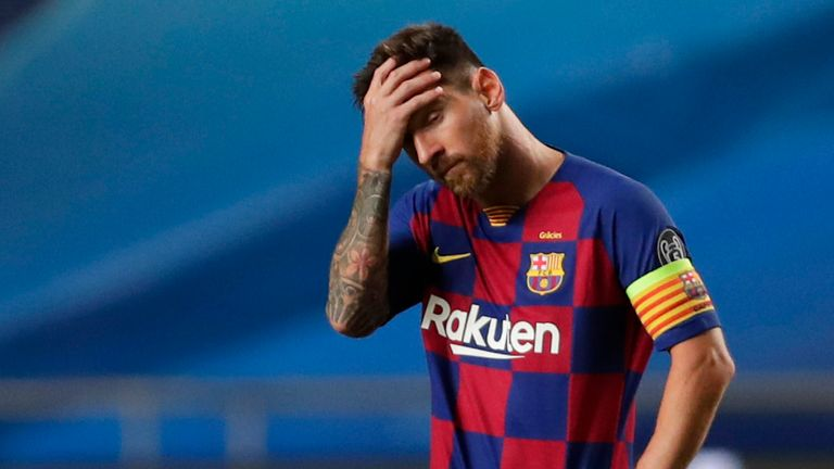 Barcelona suffered one of their biggest defeats on Friday