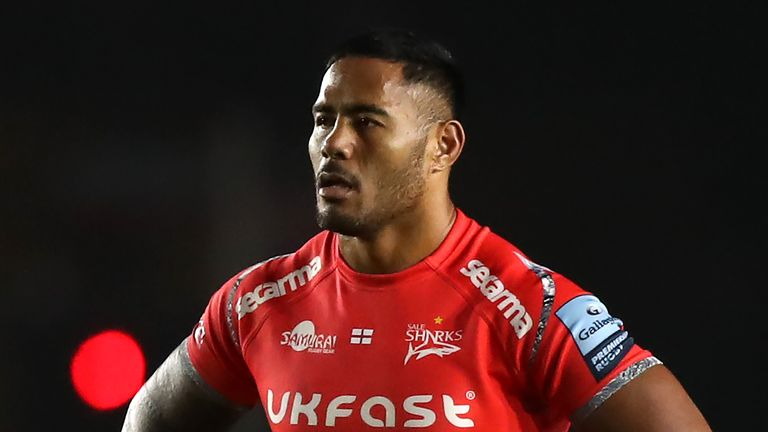 Manu Tuilagi and his Sale team-mates know victory at home to Bristol will see them move into second