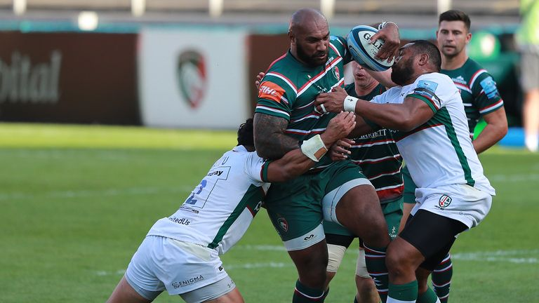 Nemani Nadolo made his debut for the Tigers