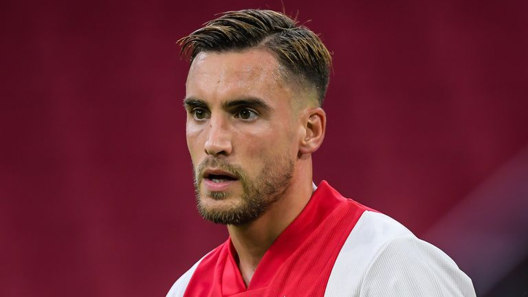 Nicolas Tagliafico joined Ajax from Independiente in 2018
