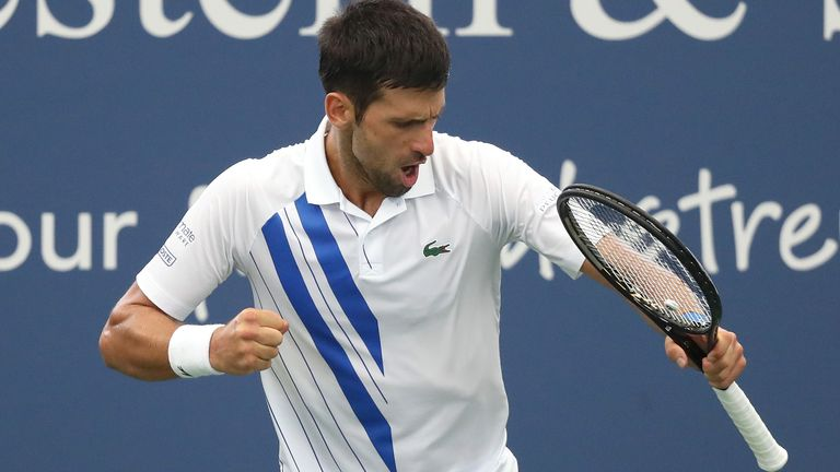 Djokovic will begin his US Open campaign against Damir Dzumhur on Tuesday