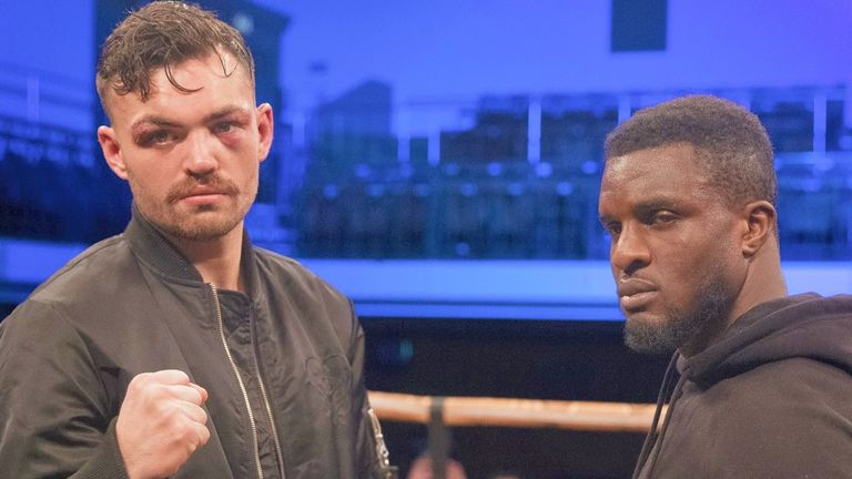 Tyrone McKenna faces Ohara Davies on Wednesday, live on Sky Sports