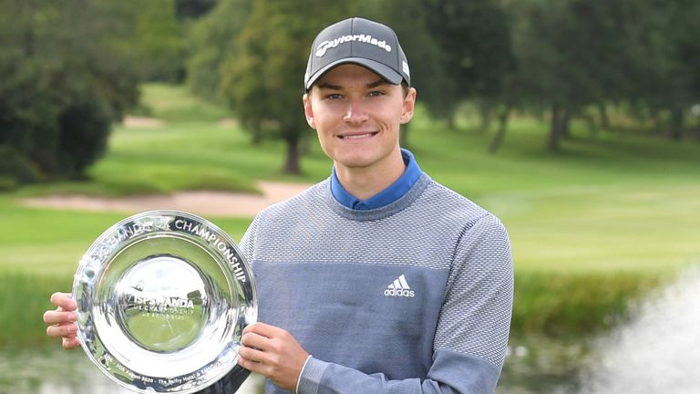Hojgaard's has not finished lower than sixth in his four UK Swing starts
