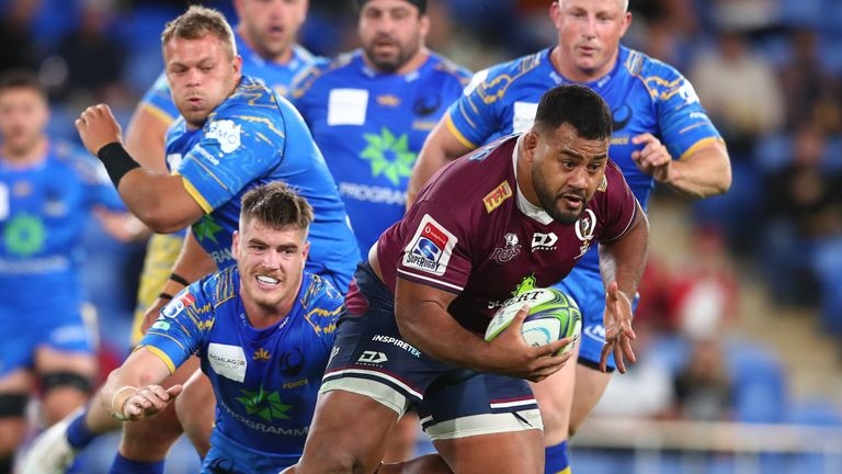 Watch highlights of the Reds' eight-try victory over Western Force
